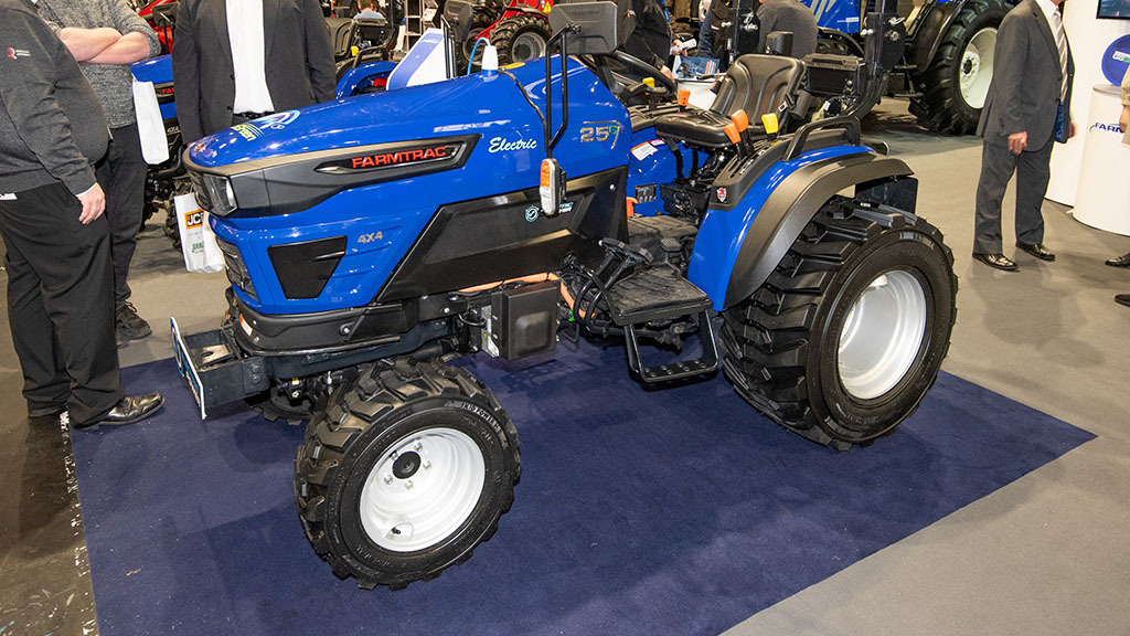 Reesink Agriculture electric Farmtrac tractor