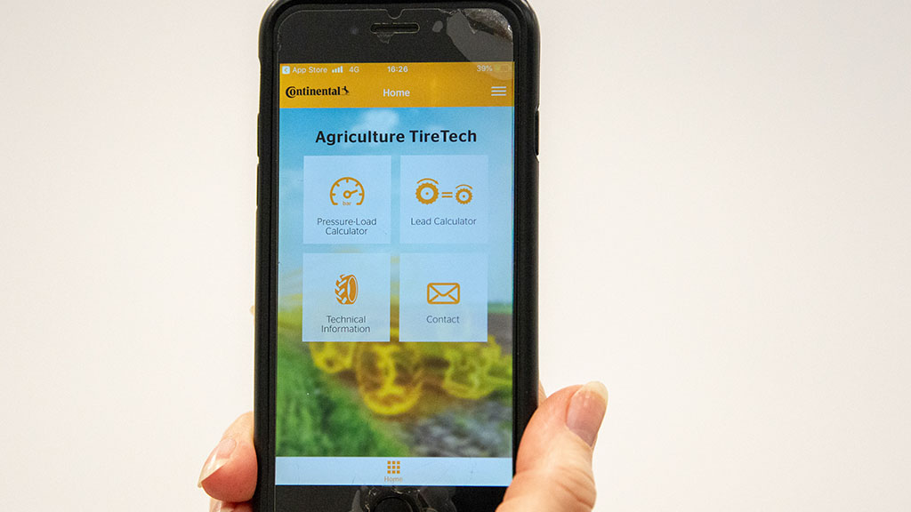 Continental tyre app