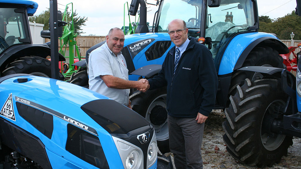 Clover Farm Services takes on Landini
