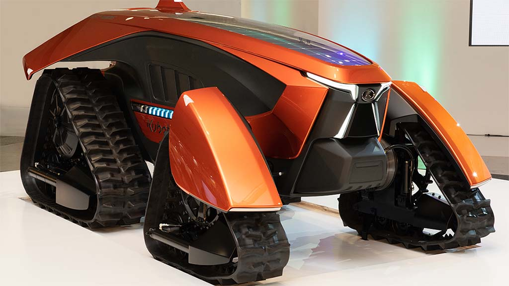X marks the spot for Kubota's future tractor concept