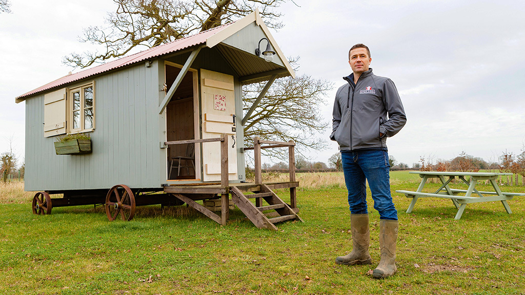 TV presenter returns to farming and beefs up the family business