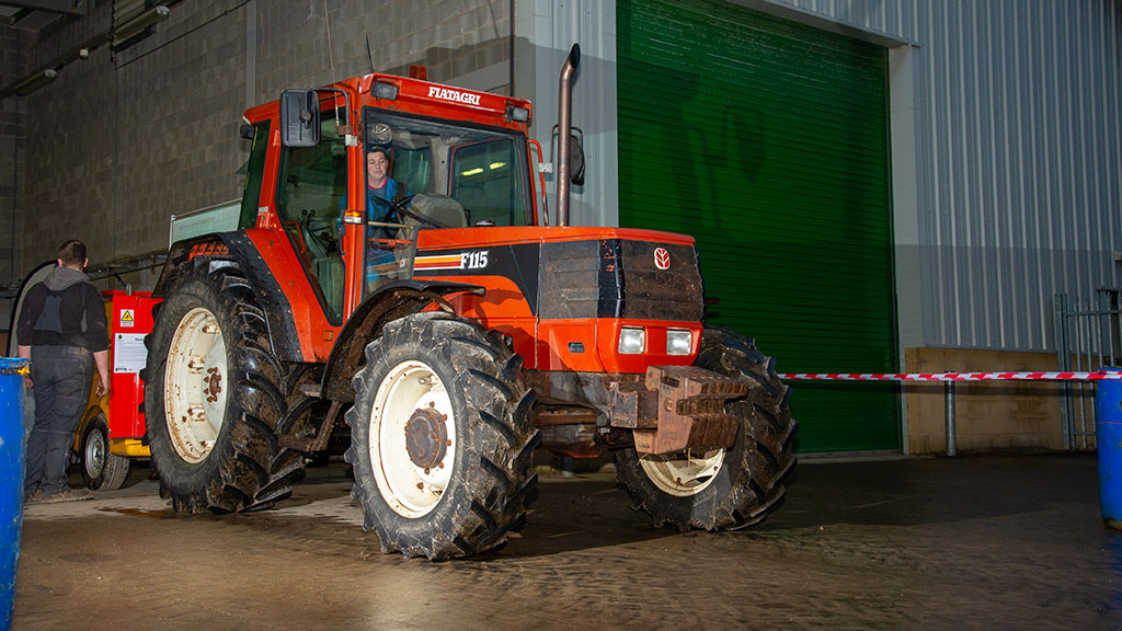 Tractors pitted against the dyno for charity power testing day