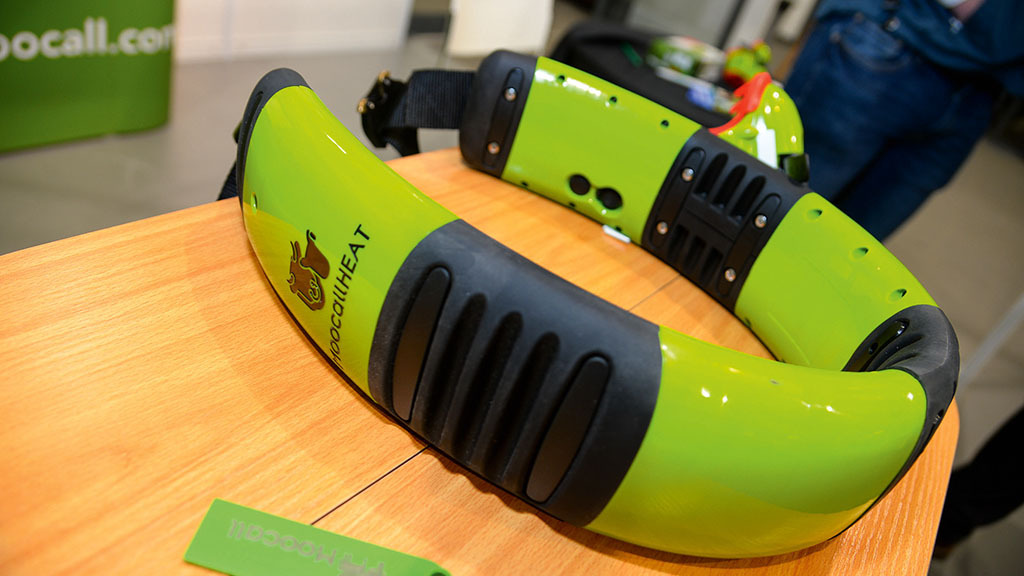 Moocall heat detection collar and app