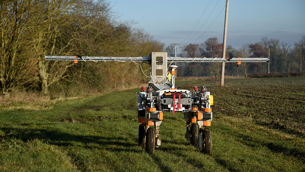 Robotics set to transform the countryside