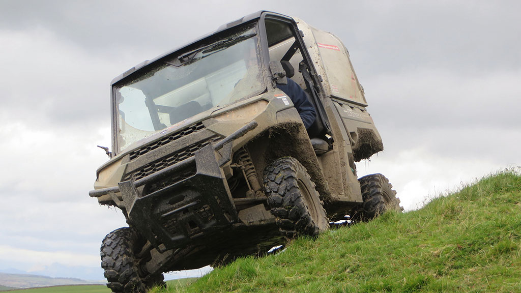 The new Polaris Ranger Diesel has been thoroughly put through its paces.