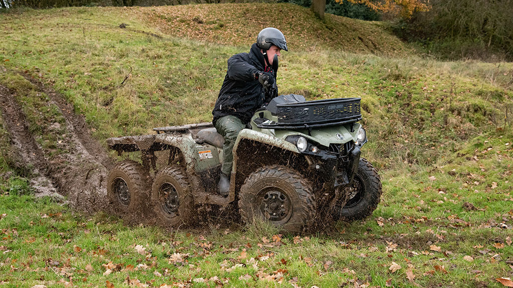 On-test: We try out the latest addition to Can-Am's six-wheel drive ATV family