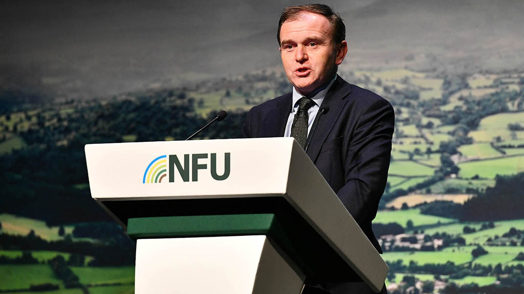 Eustice given rough ride during first NFU conference as Secretary of State