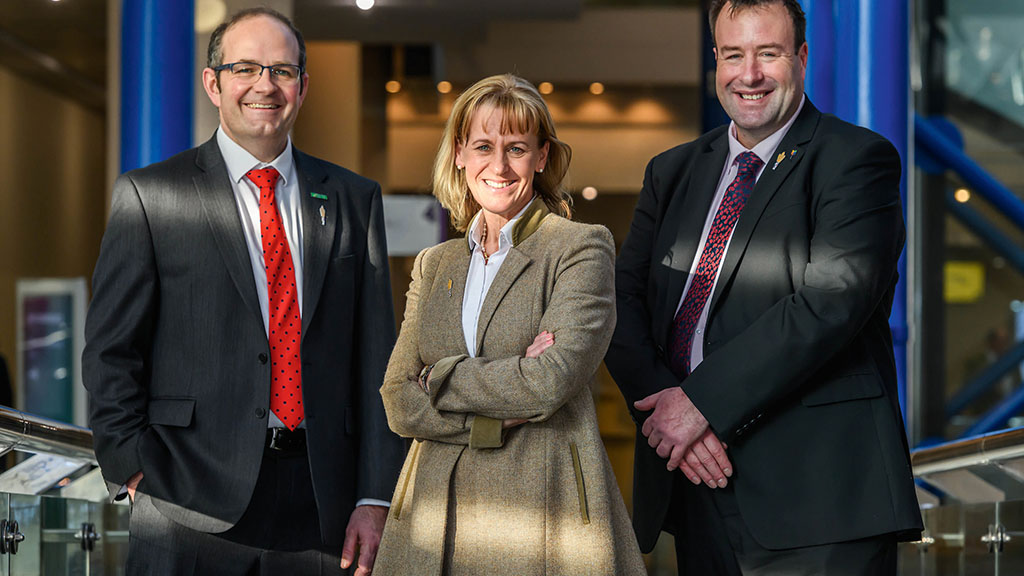New-look top team at the NFU vows to work on 'getting Brexit right'
