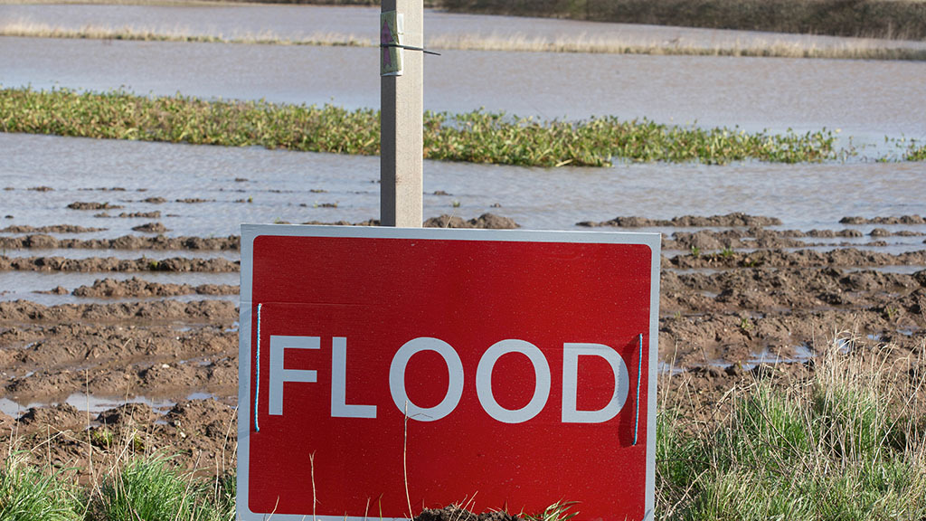 Factor flood risk in to food security measurements