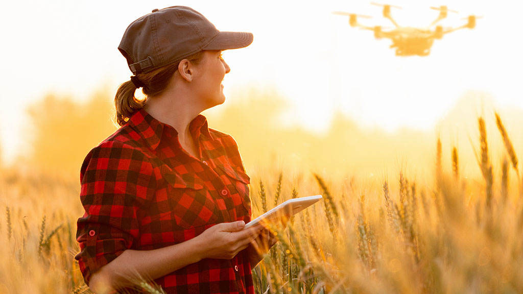 'There is more technology embraced in farming than most would imagine'