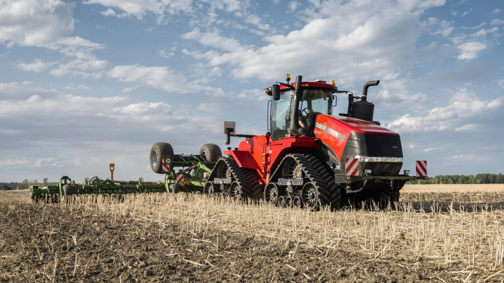 Case IH adds AFS Connect technology onto Quadtrac and Steiger tractors.