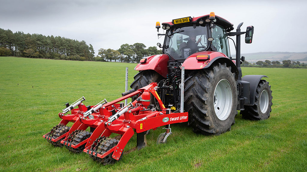 Sward slitting and lifting offers water course protection with added agronomic benefits