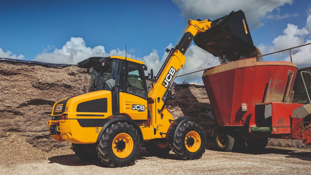Efficiency and styling updates to JCB's small loading shovels and telescopic wheeled loaders