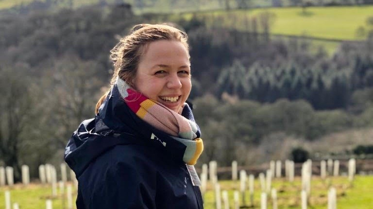 Polly worked as a harvest manager for a soft fruit farm