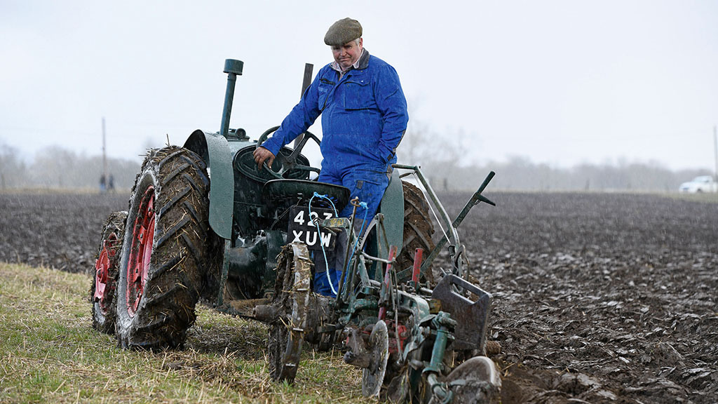 Farmer undertakes charity ploughing marathon in aid of Parkinsons