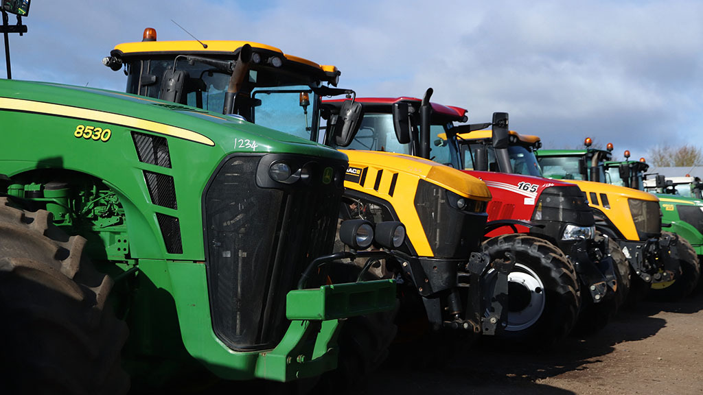 How are tractor manufacturers coping with the coronavirus pandemic?