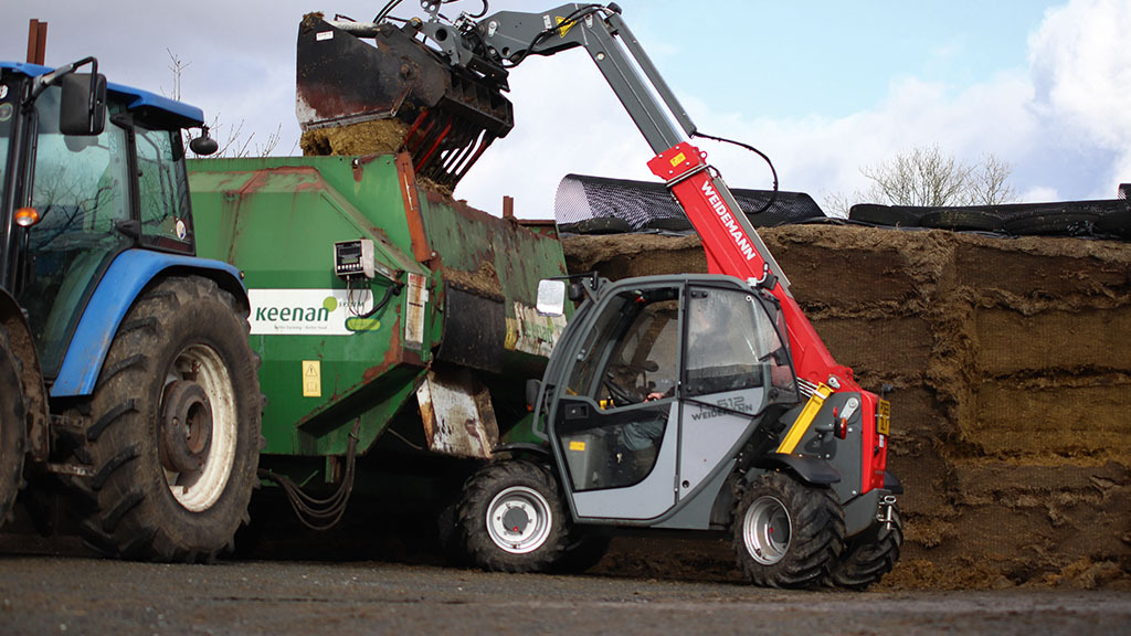 Little Weidemann loader leaves a big impression on one beef and sheep  farmer