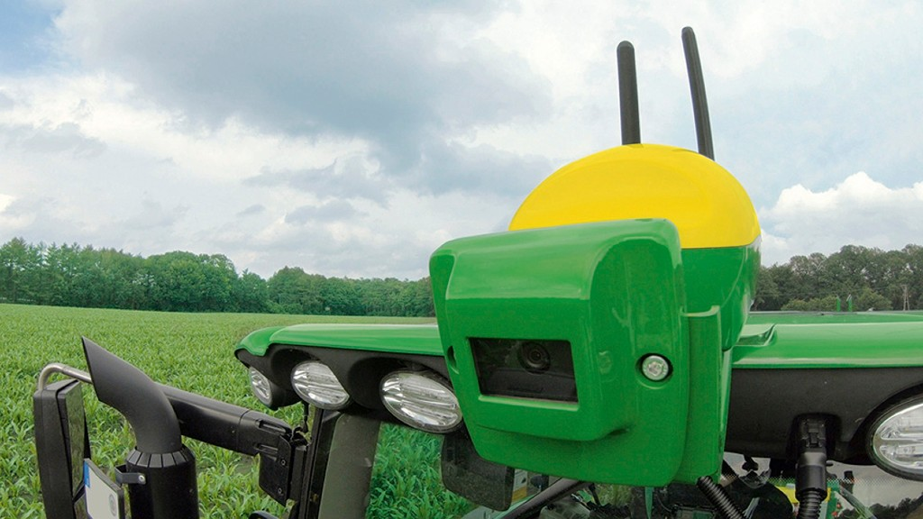 John Deere adds camera guidance system to precision farming suite