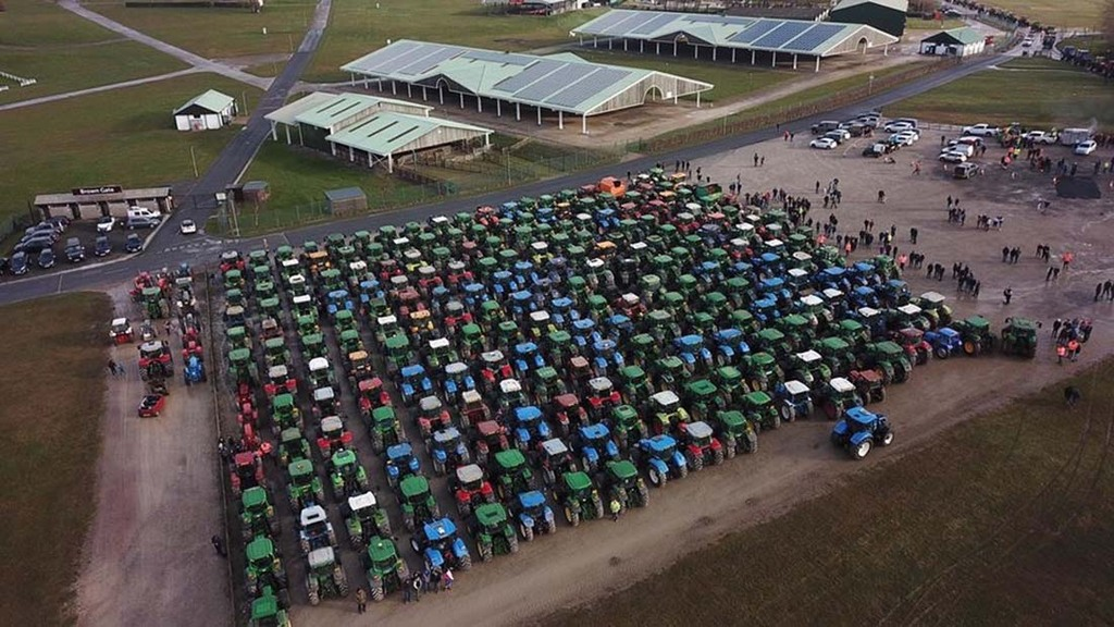 Young Farmers Club tractor run raises £20,000 in memory of former member