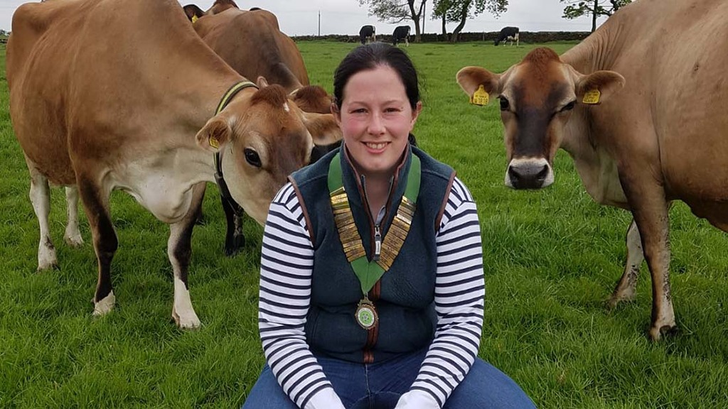 Yorkshire YFC Chairperson, Georgina Fort.