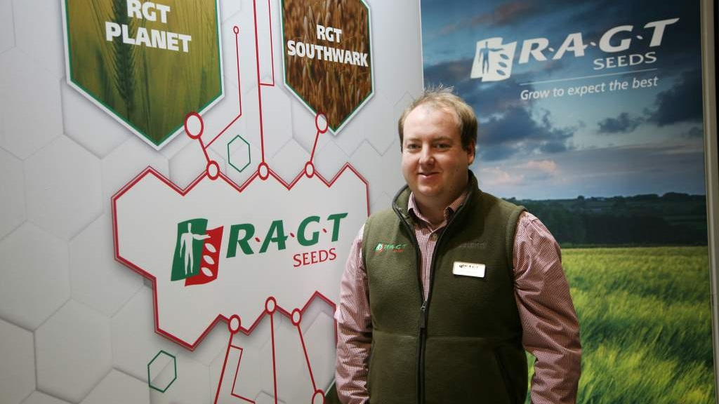 Tom Dummett, cereal and OSR product manager with RAGT Seeds