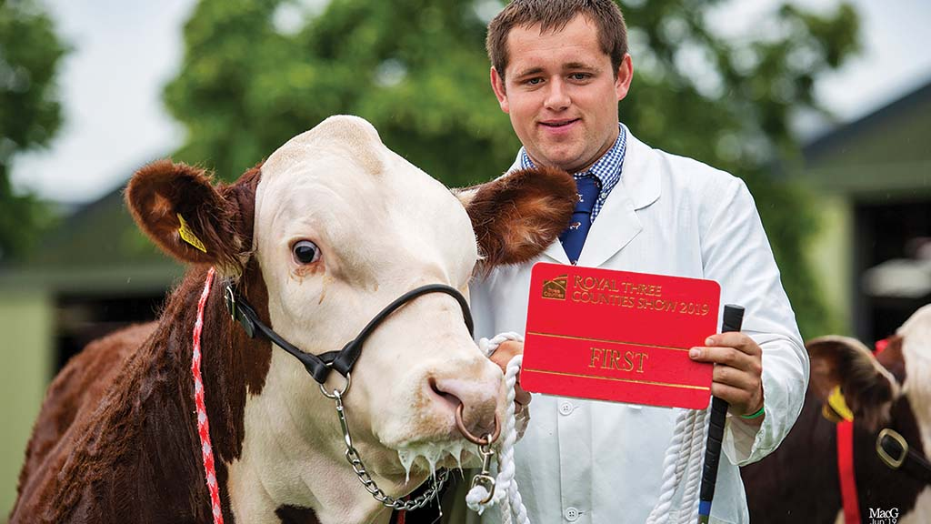Young Farmer Focus: Ryan Coates - 'I have a love of Herefords'