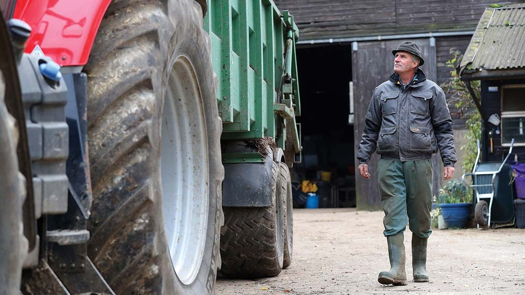 A tractor and trailer can be checked in five minutes.