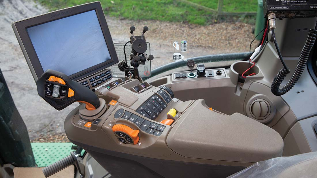Cab and controls 2