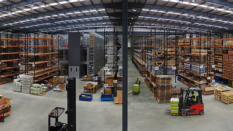 Claas UK supersizes parts warehouse capability with all new facility