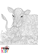 Colour in Cow