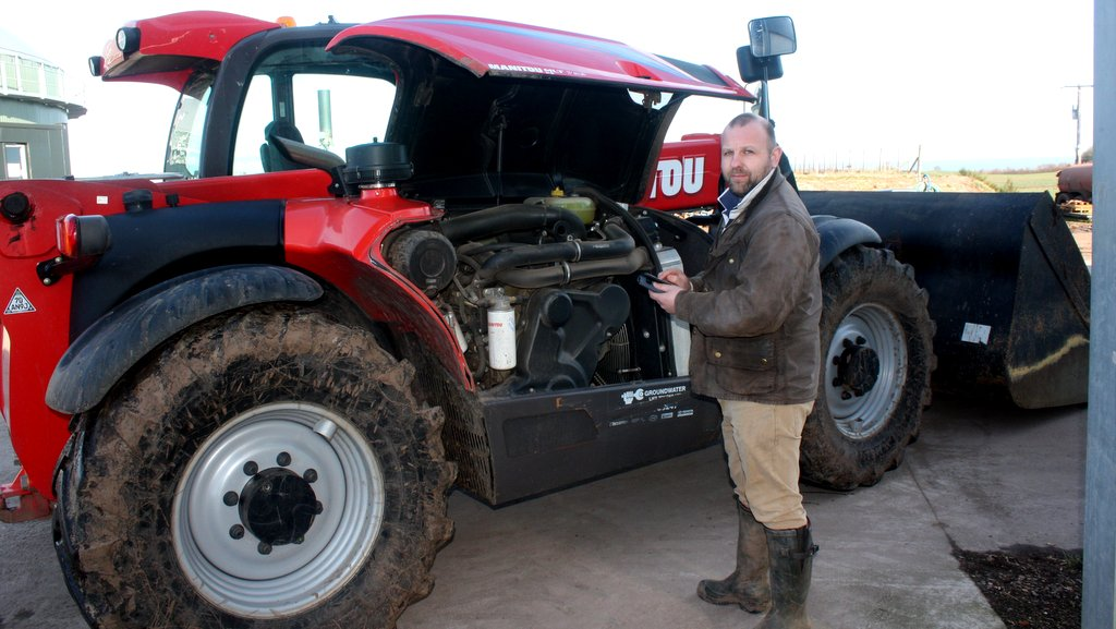 Aberdeenshire farmer invents new app to help machinery maintenance
