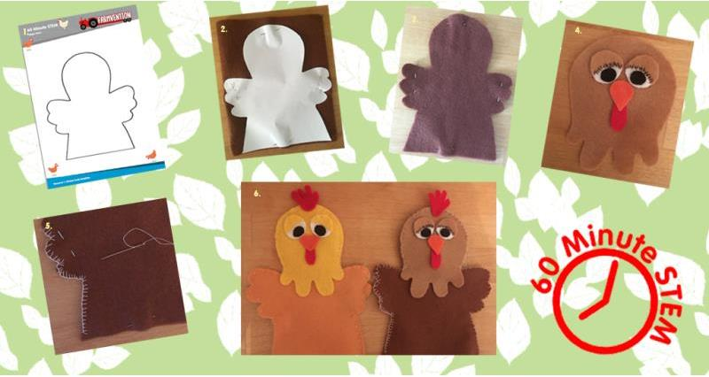 Make a poultry puppet