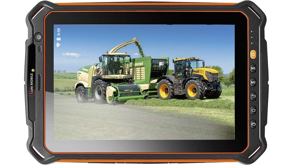 Tough tablet launched designed with farming in-mind