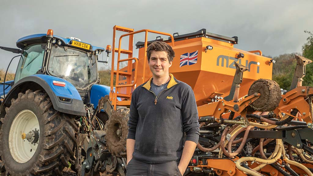 User story: Chichester farmer makes most of two in one Mzuri Xzact drill