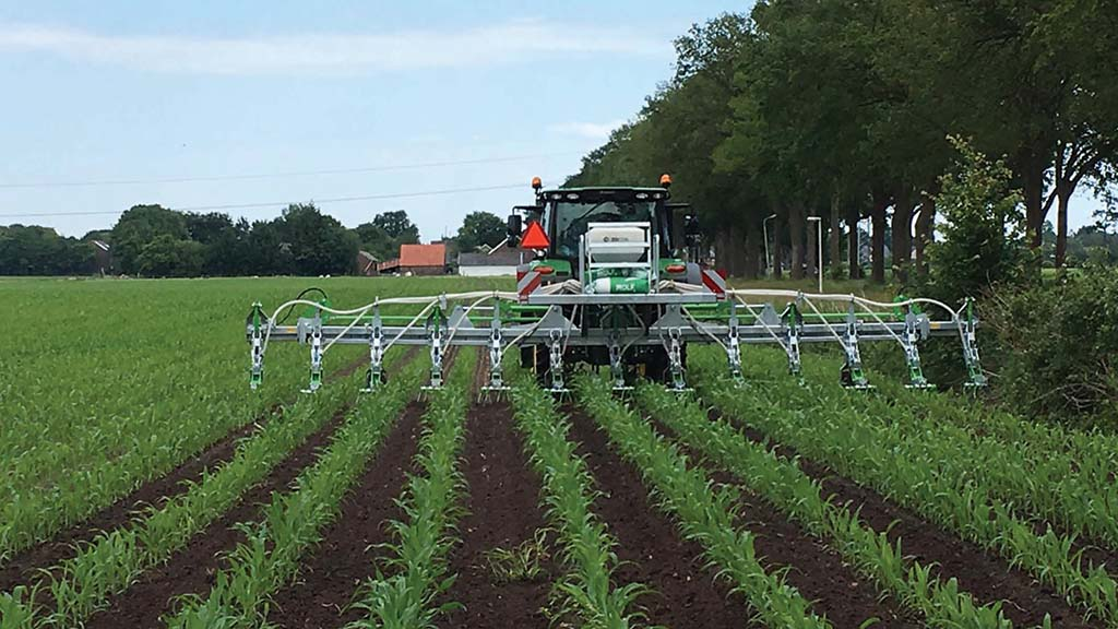 The new Greenseeder offers the ability to undersow a maize crop.