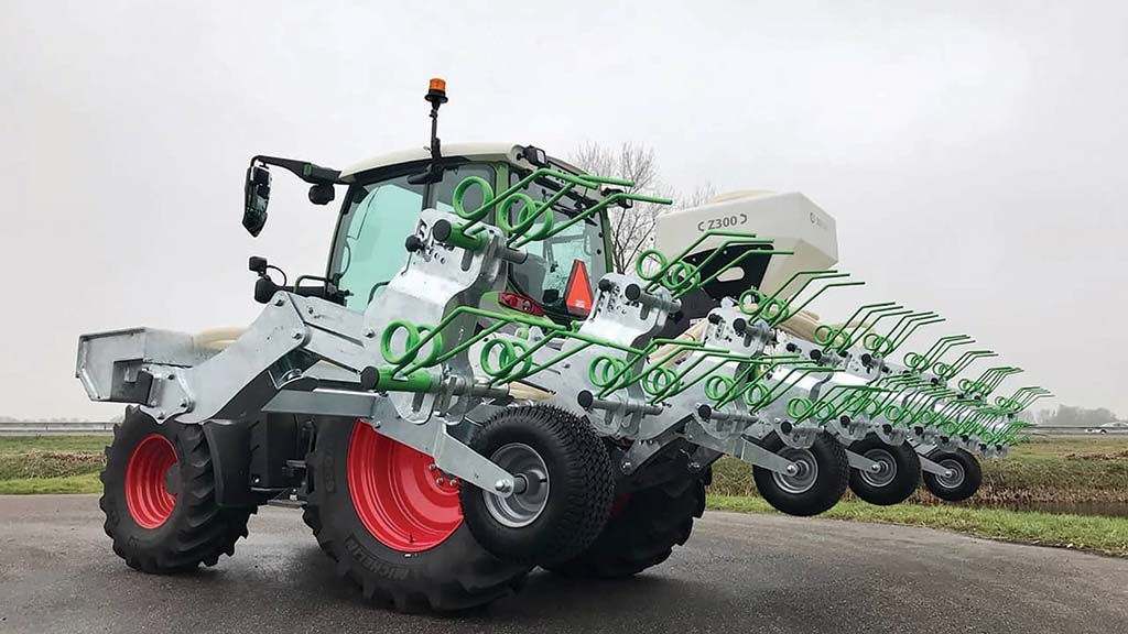 Greenseeder features a fully galvanised frame.