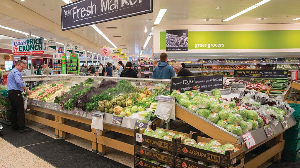 December busiest month ever for food retail