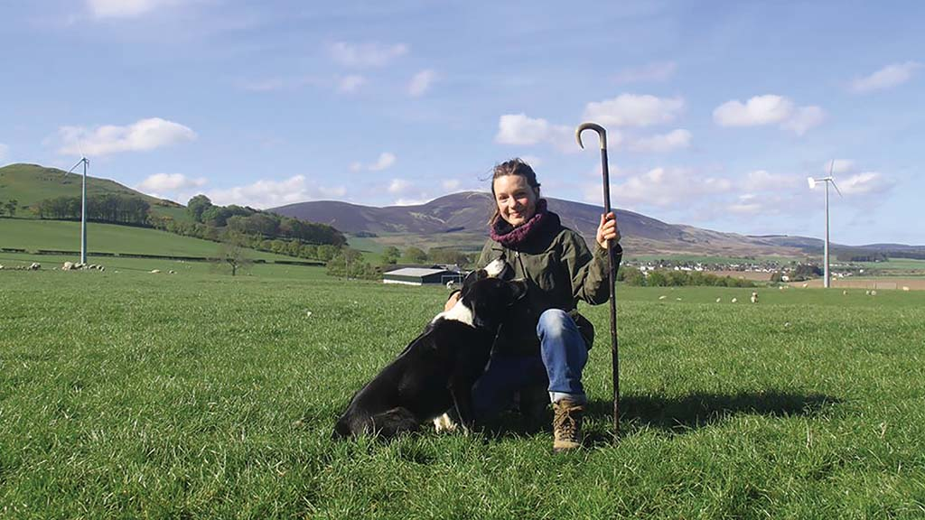 Sheepdog trialler profile: Belgian Laura Hinnekens smitten with Scottish trialling scene