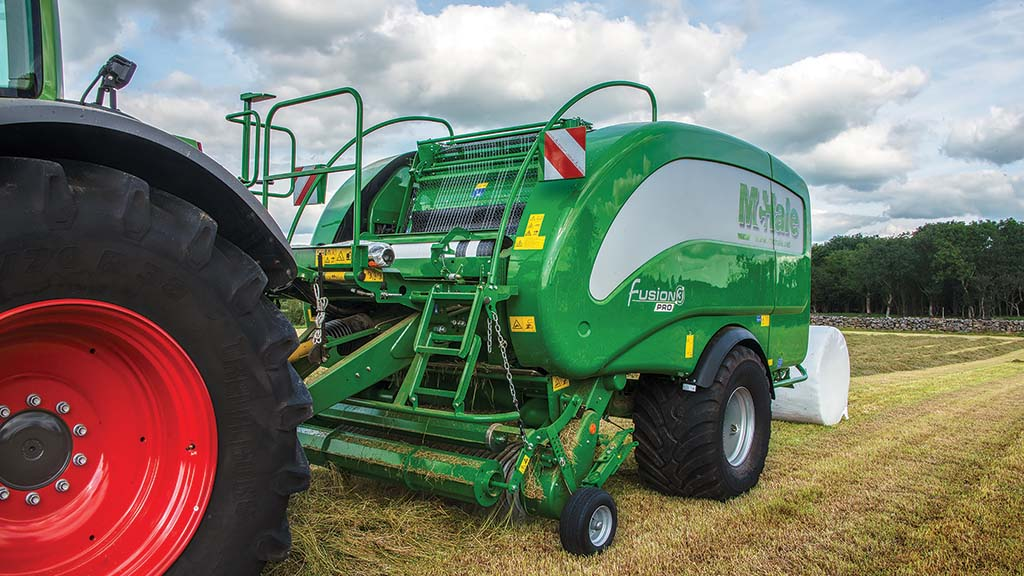 Grassland and muck machinery developments: Round and square balers