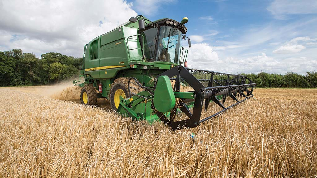 Spring barley yields just ahead of five-year average