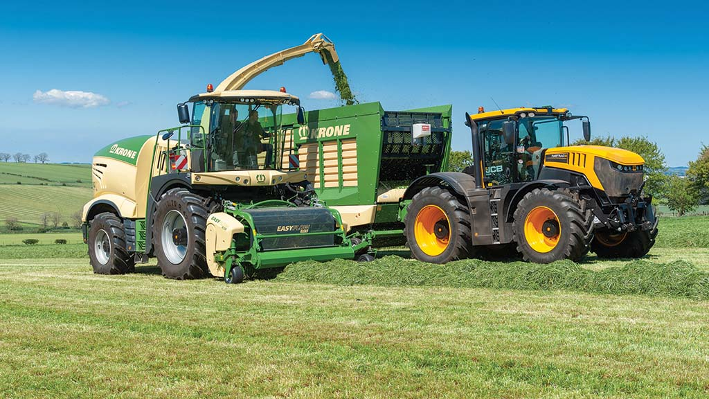 Charting 20 years of development for Krone's Big X forage harvesters