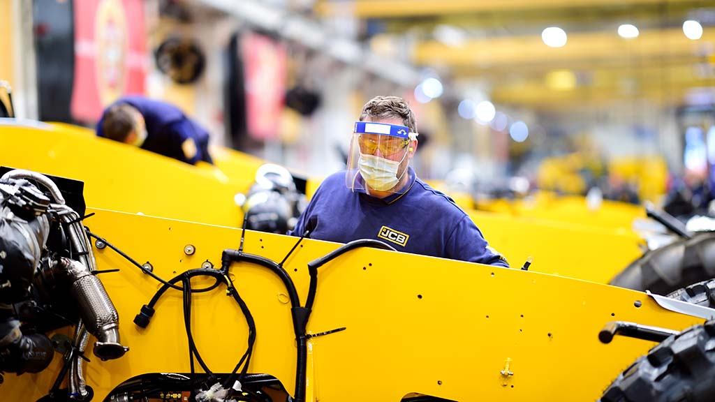 JCB announces redundancies as demand for machinery halves