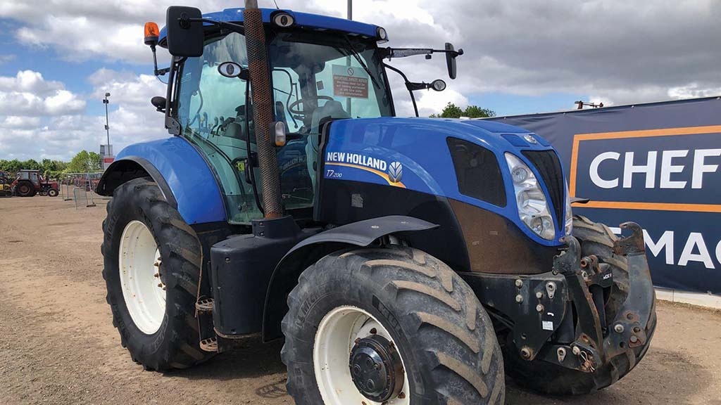 New Holland and Case IH