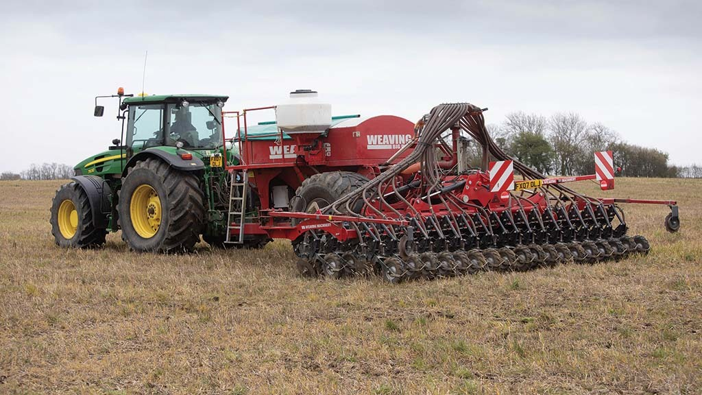 The farm's fenland soil is cultivated with care and a range of min-till practices are undertaken.
