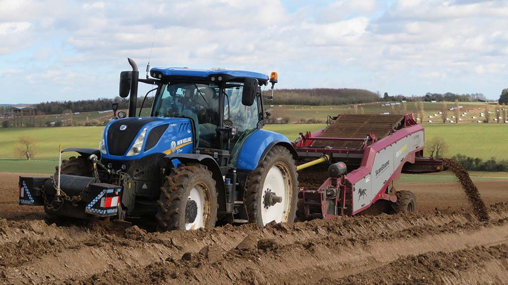 ScanStone separator has starring role in soil preparation