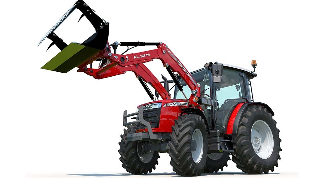 New sub-100hp range of tractors from Massey Ferguson
