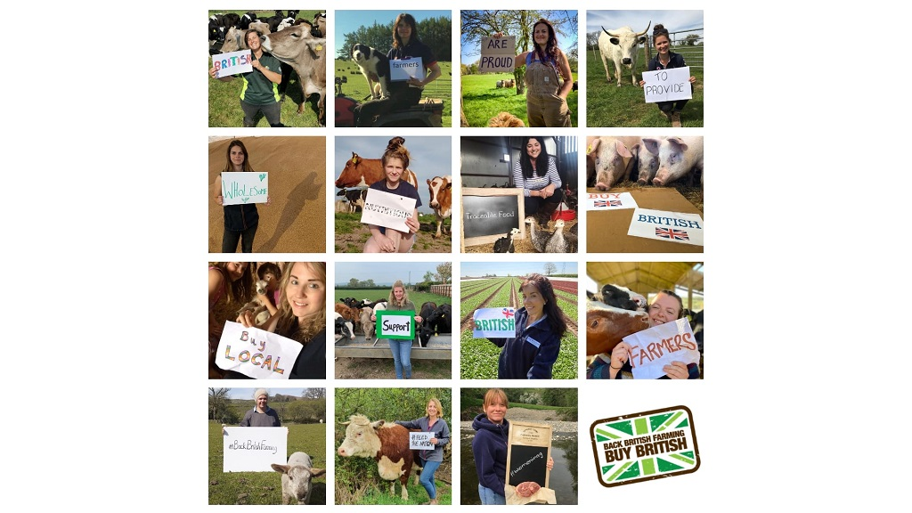 Female farmers unite to 'Back British Farming'