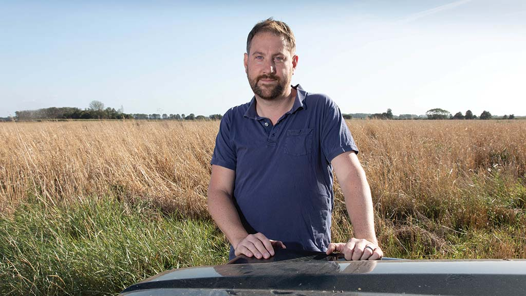 In your field: Tom Clarke - 'I am growing traditionally imported wheats'