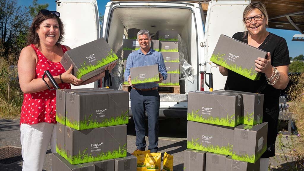 Dairy company donates 5,000 packs of cheese to help families in need