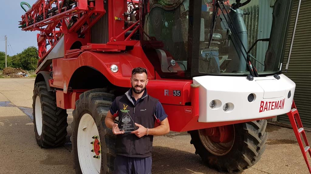 Cereals Live: Matt Fuller shares his top spraying tips after winning sprayer operator of the year award